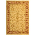 Safavieh Anatolia Simon Hand-Tufted Wool Area Rug, Ivory/Red