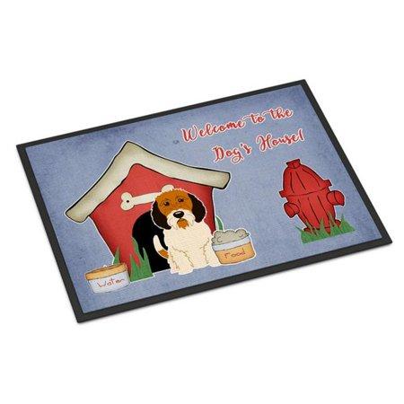 Carolines Treasures BB2833JMAT Dog House Collection Petit Basset Griffon Veenden Indoor or Outdoor Mat, 24 x 0.25 x 36 in. - image 1 of 1