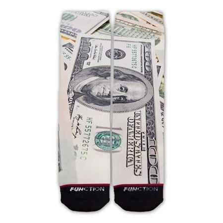 Function - Money Big Bills Fashion Sock](Sock Monkey Makeup)