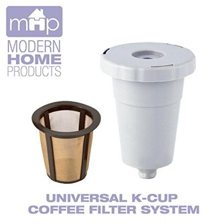 Permanent Universal K-Cup Coffee Filter System Fits All Older Keurig Single-Serve Coffee Machines (Not for (Keurig 2-0 Won T Accept K Cup)