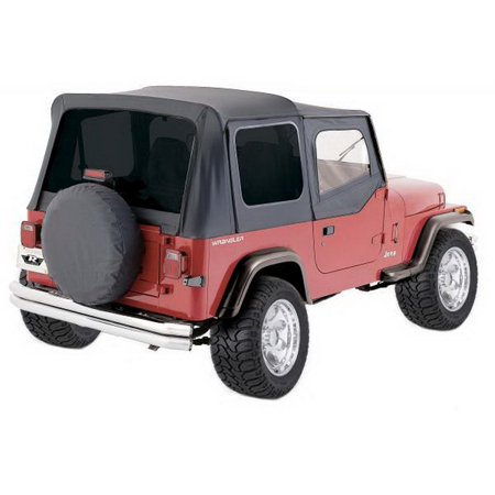 (Rampage 68115 Complete Replacement Soft Top with Frame and Hardware)