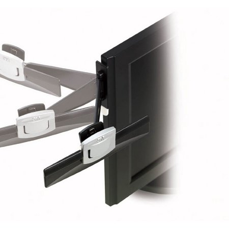 3m Monitor Mount Document Holder (3M Document Clip DH240MB - Copy holder - black, silver )