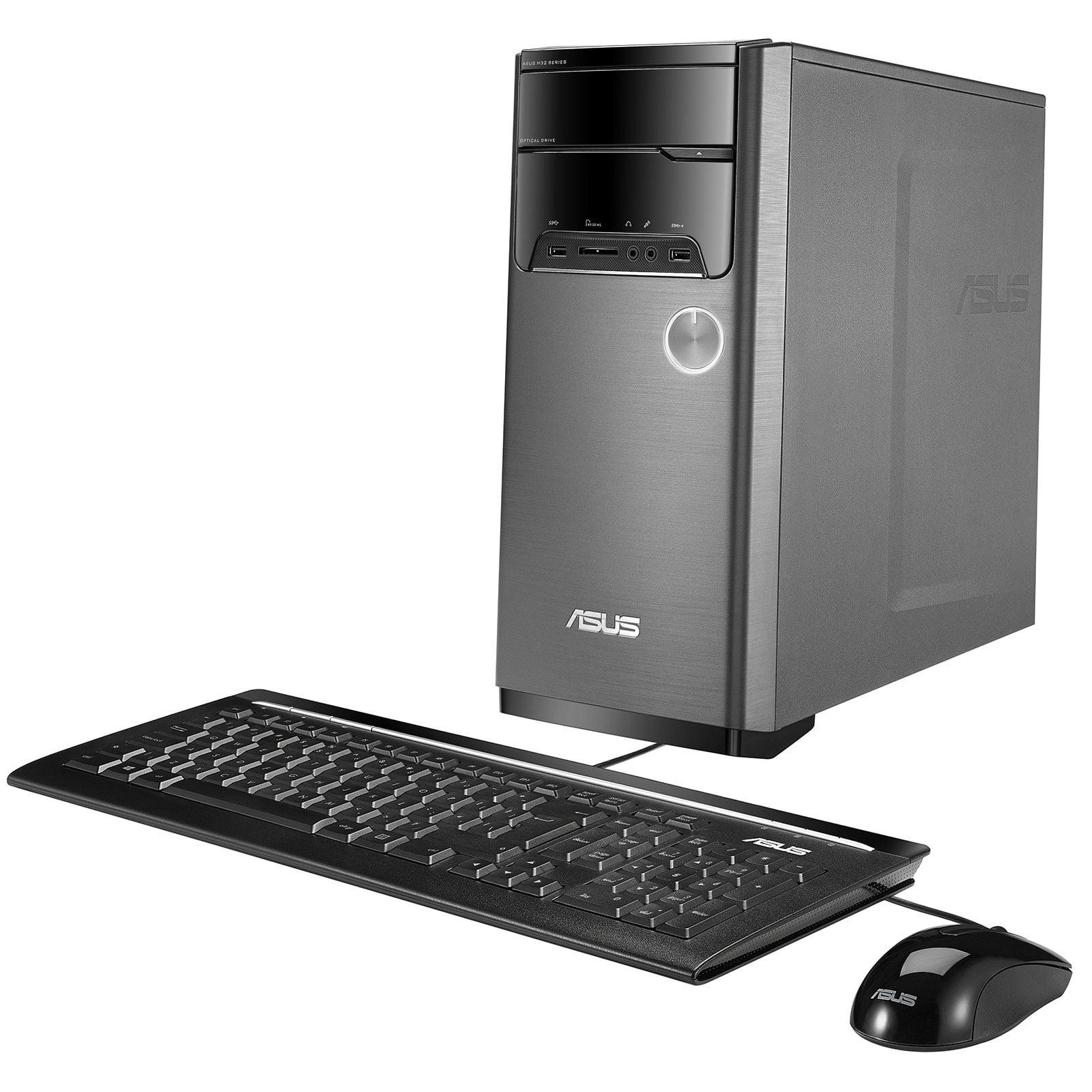 ASUS VivoPC M32CD Desktop, Intel Quad-Core i5-7400 Upto 3.5GHz, 32GB DDR4, 1TB SSD Plus 1TB HDD, NVIDIA GeForce GT 730... by ASUS