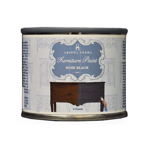 AMITHA VERMA NB04 4OZ Black Chalk Paint