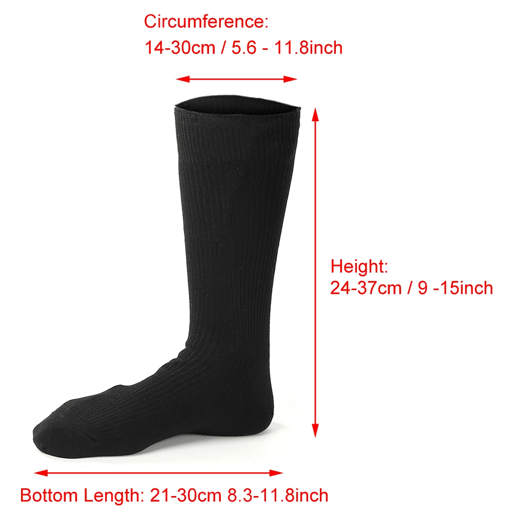 Details about  /Thickening Cotton Soft Socks Winter Warm Socks Comfortable Warm Socks Heated