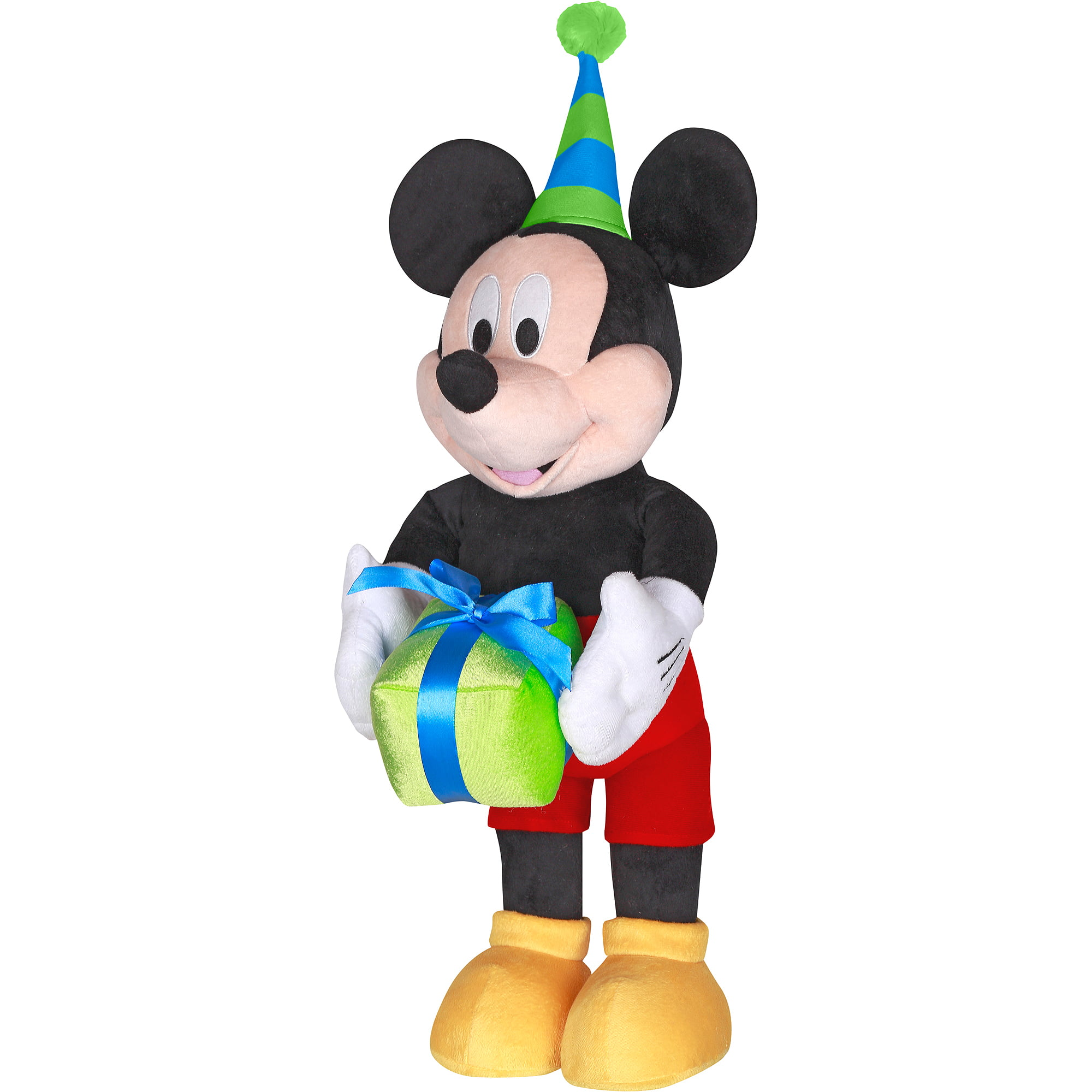 gemmy industries 25 plush mickey mouse party greeter walmart com
