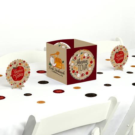 Rosh Hashanah - Jewish New Year Centerpiece & Table Decoration Kit](New Year Centerpieces Decorations)