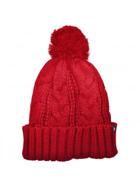 572f4b3940d Product Image Brooklyn Pom Knit Beanie Hat - ONE SIZE FITS MOST - Red