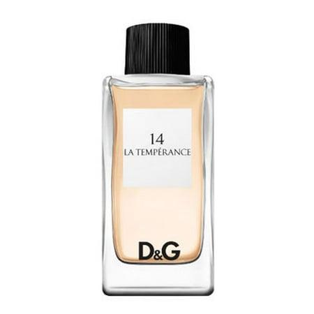 Dolce & Gabbana D&G 14 La Temperance Eau de Toilette Spray For Women 3.3 Oz