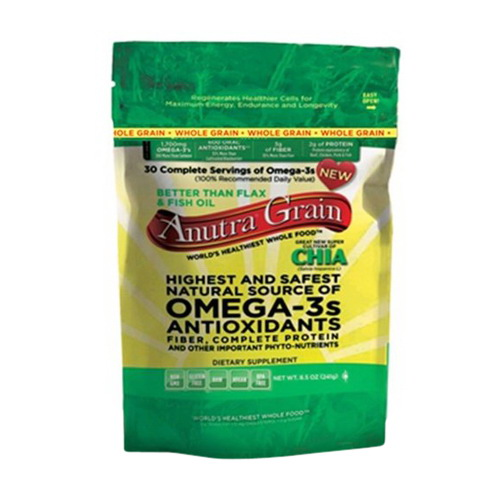 Anutra Omega 3S  Highest And Safest Whole Grain Antioxidants - 8.5 Oz