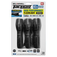 Bell + Howell TacLight Flashlight - 3 pack, As Seen on TV