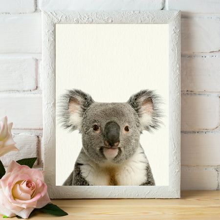Baby Zoo Wall (Baby Zoo Koala - Nursery Wall Décor Farm Baby Animal Art)