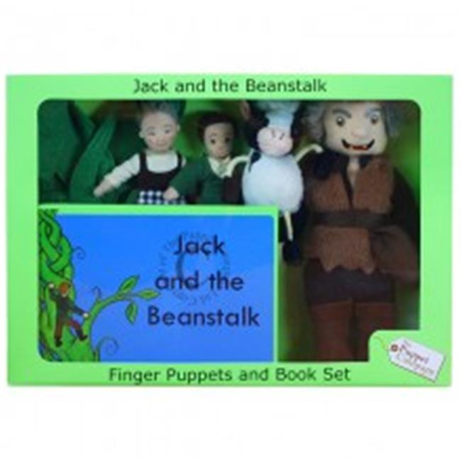 The Puppet Company Traditional Story Finger Puppets & Book Set, Jack & The Beanstalk
