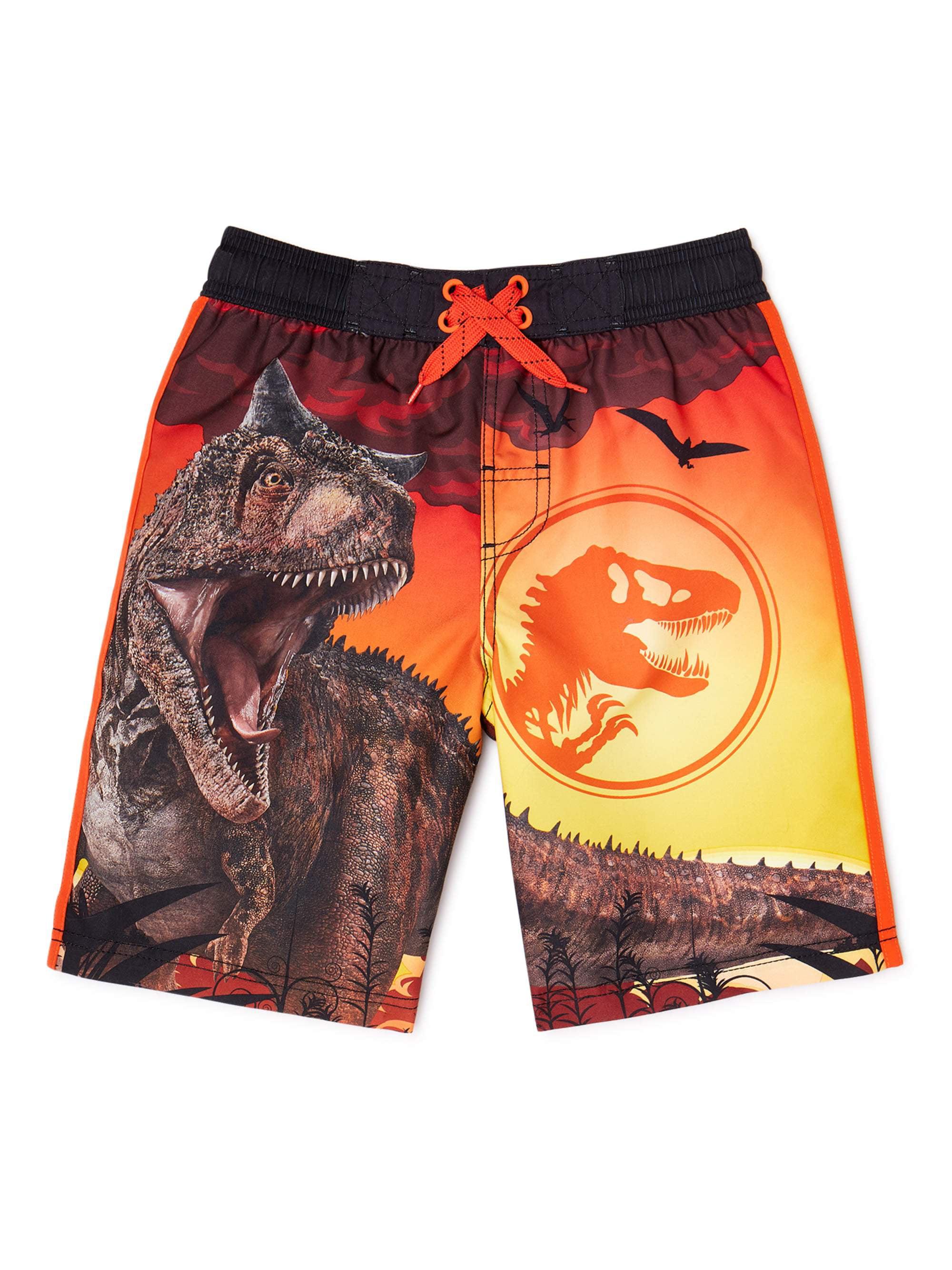 Jurassic World Jurassic World Little Boys Big Boys Swim Shorts Walmart Com Walmart Com [ 2667 x 2000 Pixel ]