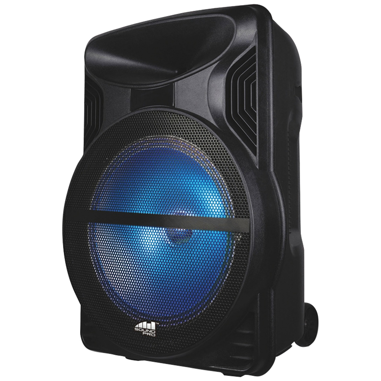 Naxa NDS-1213 2,500-Watt Portable Karaoke Speaker with Bluetooth