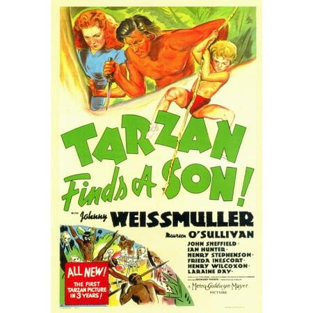 Tarzan Finds a Son Movie Poster Print (27 x 40)
