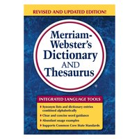 Merriam Webster Merriam-Webster's Dictionary and Thesaurus, 992 Pages -MER7326