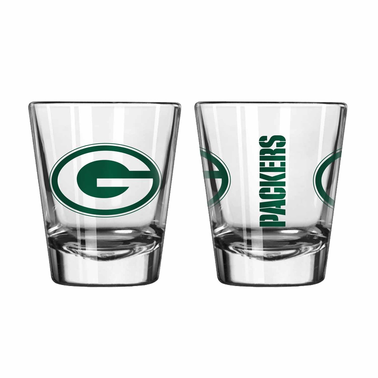 Single Shot Glass NFL Green Bay Packers Green Bay Packers BOFBGBASHS