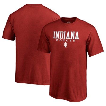 Indiana Hoosiers Fanatics Branded Youth True Sport Soccer T-Shirt - Crimson