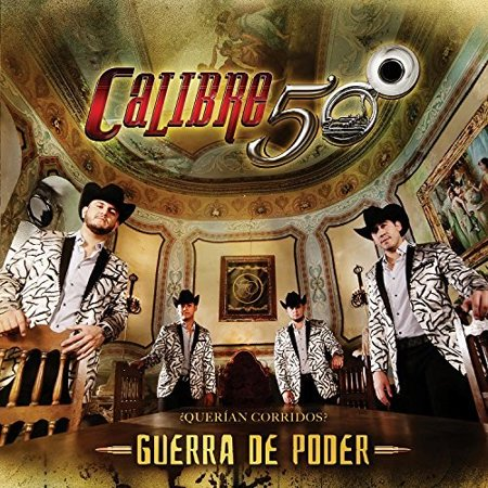 Calibre 50 - Guerra De Poder (CD) - image 1 of 1