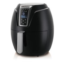 Emerald Air Fryer w/ Digital LED Touch Display 1400 Watts & Slide out Pan/Detachable Basket - 3.2L Capacity (1802)