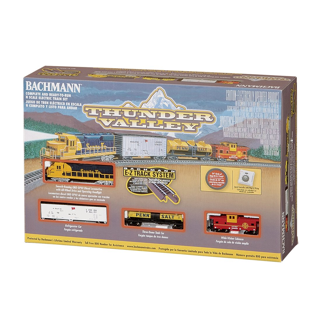 Bachmann N Scale Thunder Valley Electric Train Set by Bachmann Industries, Inc.