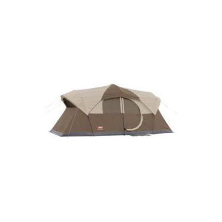 Coleman Weathermaster 10 Cabin Style Tent With Hinged Door