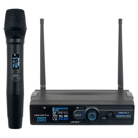 Vocopro Digital-1 900MHZ Wireless Rechargable Karaoke Microphone Mic System