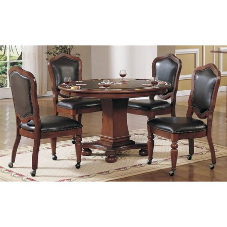 pc bellagio dining and game table set