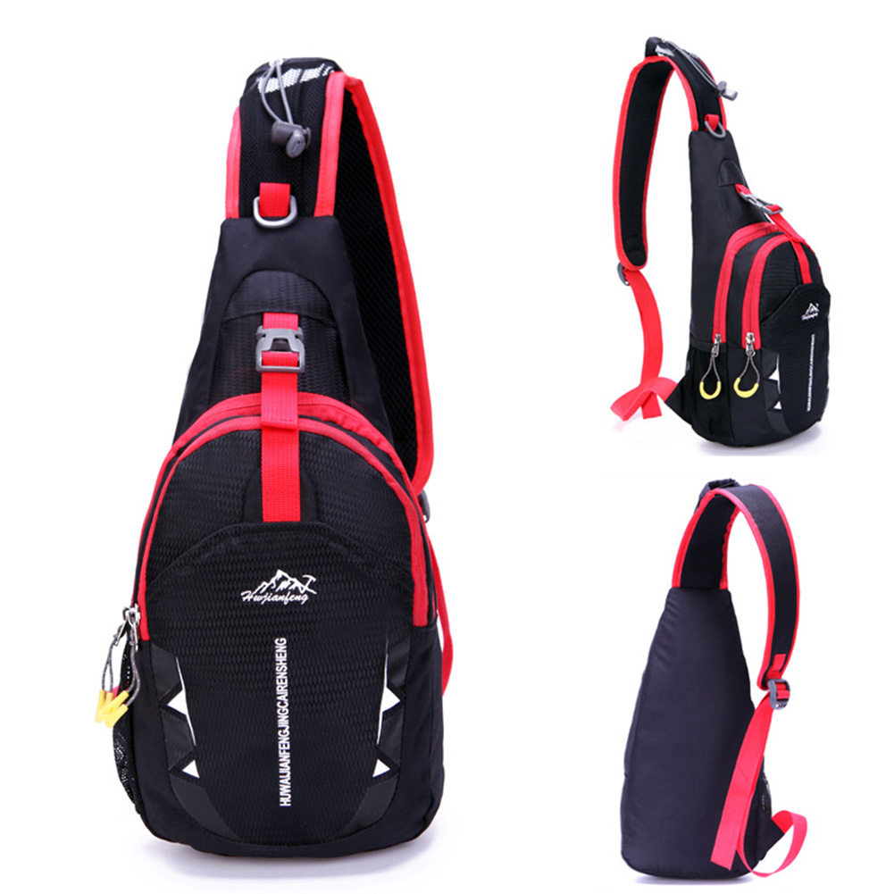 Waterproof Shoulder Sling Chest Bag Sport Hiking Cycling Crossbody Backpack