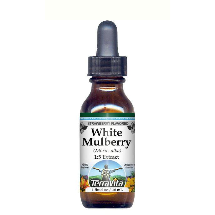 White Mulberry (Morus alba) Glycerite Liquid Extract (1:5...