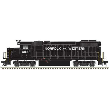 Atlas HO Scale EMD GP38-2 Diesel Locomotive Norfolk & Western/N&W #4160