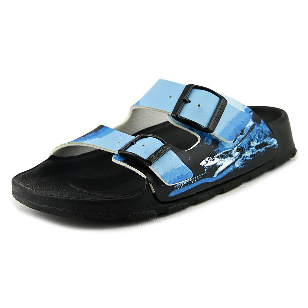 Birki's Haiti Women N/S Open Toe Synthetic Blue Slides Sa...