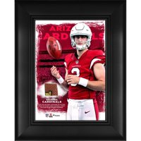 "Josh Rosen Arizona Cardinals Framed 5"" x 7"" Player Collage with a Piece of Event-Used Football"