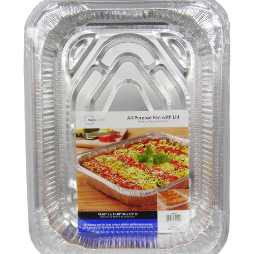 Mainstays All-Purpose Pan with Lid