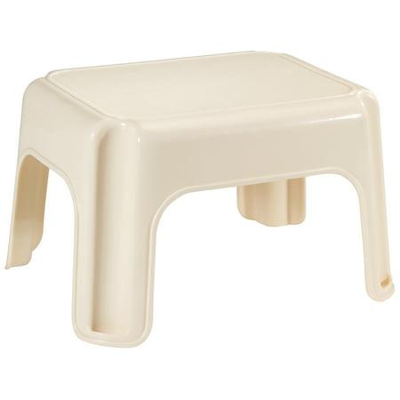 Terrific Rubbermaid Fg420087Bisqu 15 5 X 12 5 X 9 25 Bisque Step Stool Inzonedesignstudio Interior Chair Design Inzonedesignstudiocom