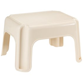 Outstanding Rubbermaid Rm Pl1W Folding 1 Step Plastic Stool Bralicious Painted Fabric Chair Ideas Braliciousco