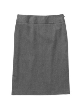 Etcetera Skirt 0 A-line Linen Below Knee Career Work Event White Modest Black Skirts Clothing, Shoes & Accessories