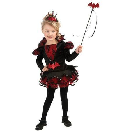 Girls Bat-ista Ballerina Toddler Costume (Ballerina Costume Girls)