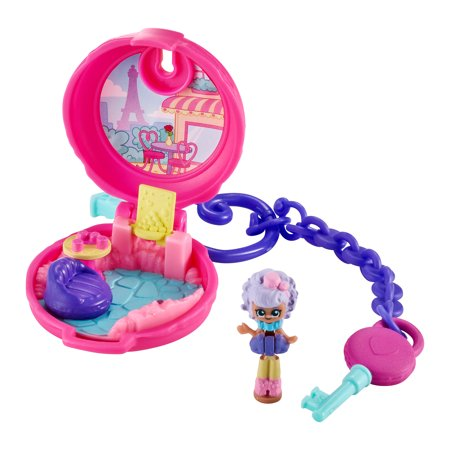 Shopkins Lil' Secrets Locket, with Lil' Shoppie Doll, (Style May Vary)