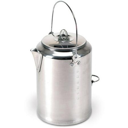Aluminum Percolator Coffee Pot, 20 Cup