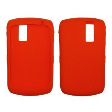 Premium Red Open-Face Silicone Cover Soft Case Cover for RIM Blackberry Curve 8300 / 8310 / 8320 / 8330 [Bulk Packaging]