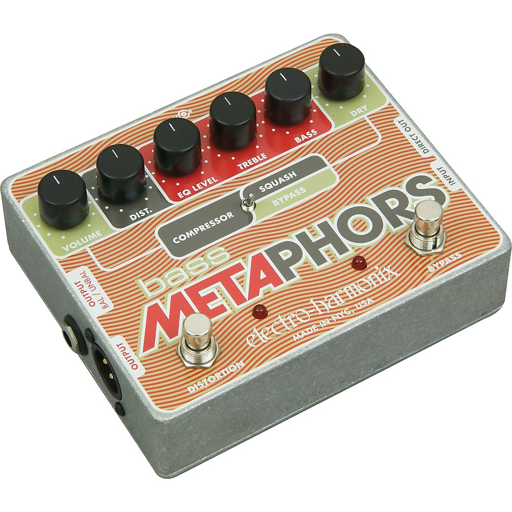 Electro Harmonix Bass Metaphors Multi Effects by Electro-Harmonix
