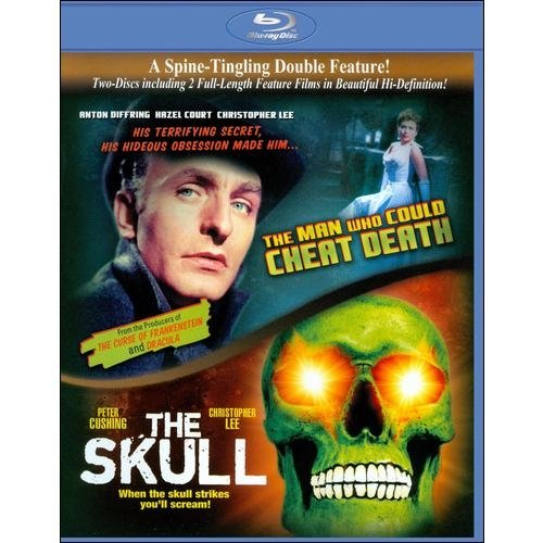 The Man Who Could Cheat Death / The Skull (Blu-ray) (Widescreen)