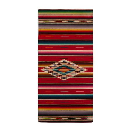 CafePress - Southwest Red Saltillo Serape - Large Beach Towel, Soft 30