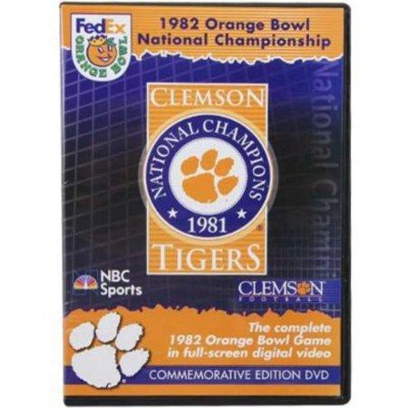 1982 Orange Bowl Championship Clemson Tigers (DVD)
