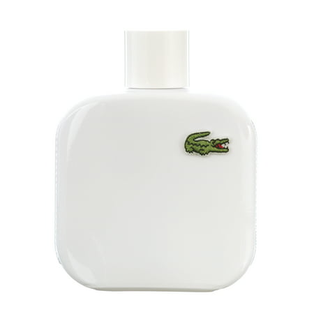 Lacoste Eau De Lacoste L.12.12 Blanc Pure Eau De Toilette Spray, Cologne for Men, 3.3 Oz