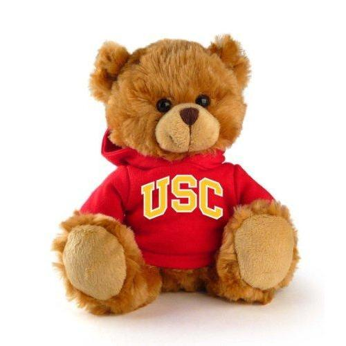 "USC Trojans NCAA 8"" Plush Hoody Teddy Bear"