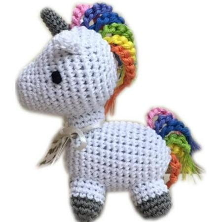 Unicorn Dog (Knit Knacks Mystic the Magic Unicorn Organic Cotton Small Dog)