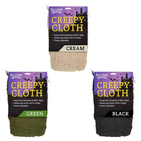 Halloween Freaky Creepy Cloth Net Fabric Prop Decoration ASSORTED 3-Pack](Halloween Decorations Sale Uk)